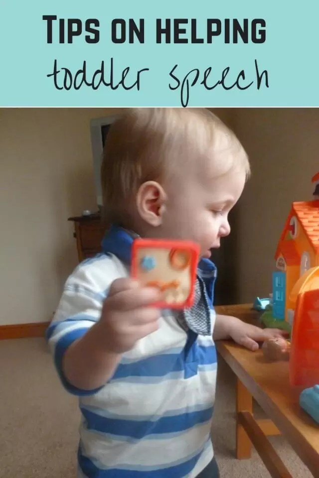 Tips on helping toddler speech - Bubbablue and me