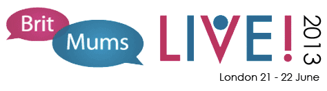 Britmums Live! 2013 sponsorship