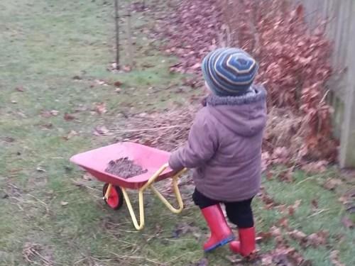 wheelbarrow practice