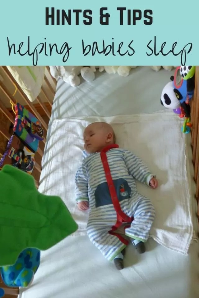 Baby sleep tips - Bubbablue and me