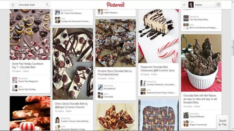 Pinterest chocolate bark ideas