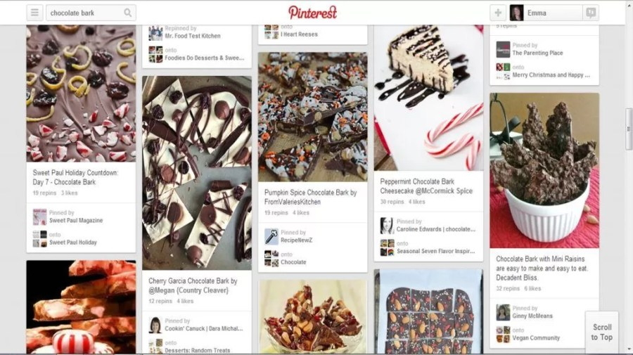 Pinterest chocolate bark ideas