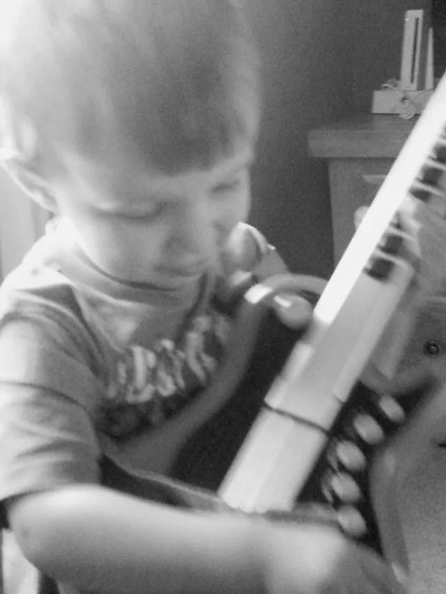 Toddler toy guitar