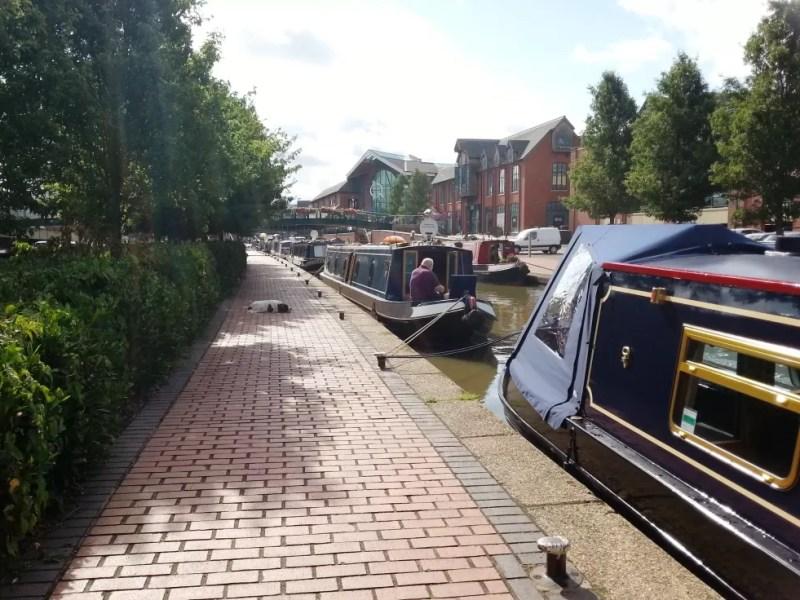 canal boat moorings