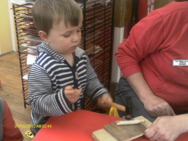 toddler woodwork