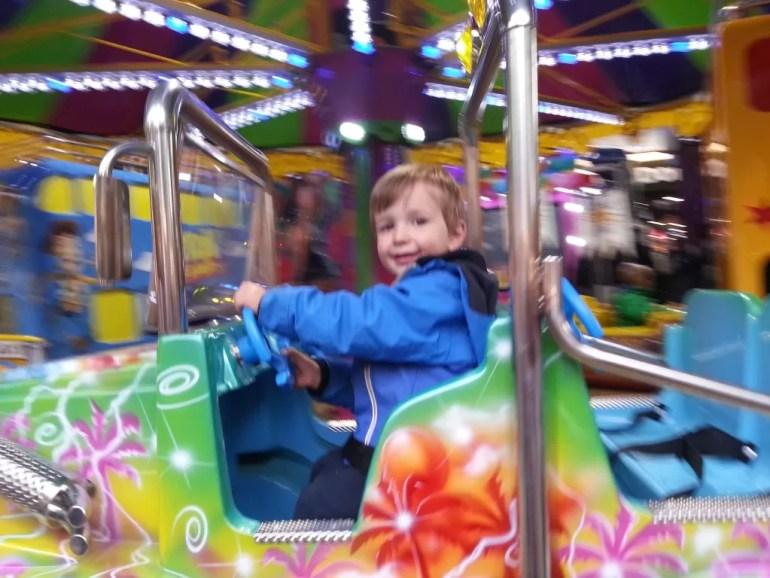 car fairground ride