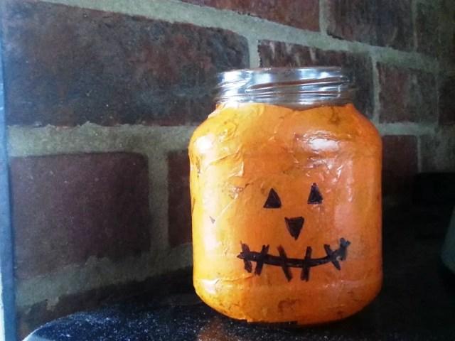 pumpkin jar light