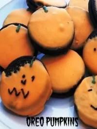 halloween oreo pumpkins