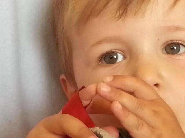 eyes of a toddler