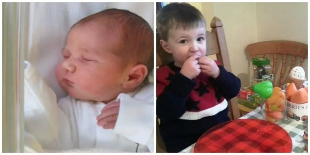 Change from newborn to 3 year old
