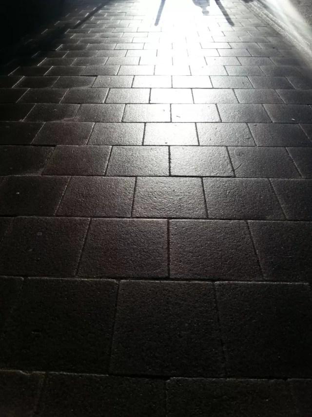 Street under sunlight