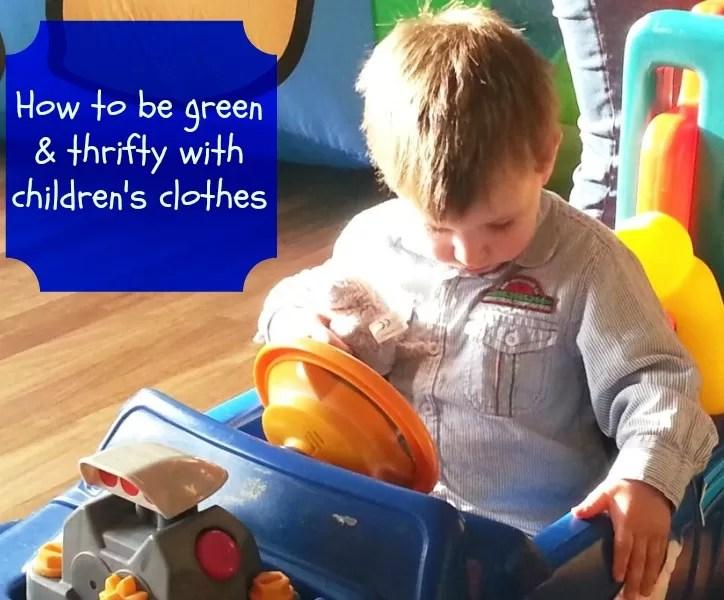 thrifty toddler fashion