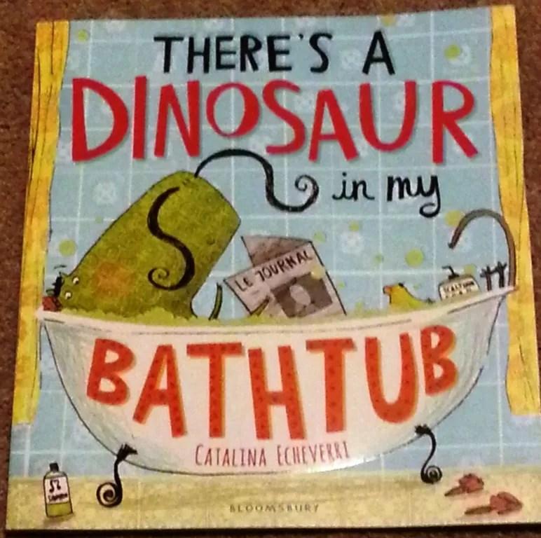 Dinosaur in my bathtub book review
