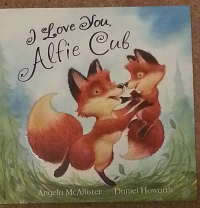 Alfie cub picture book