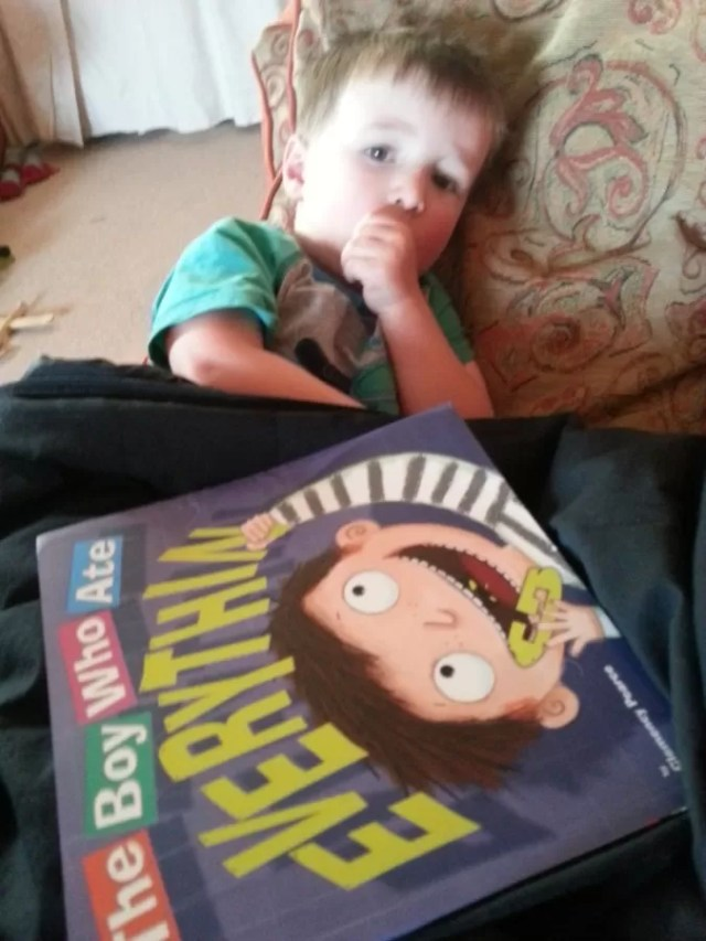 book review the boy who ate everything