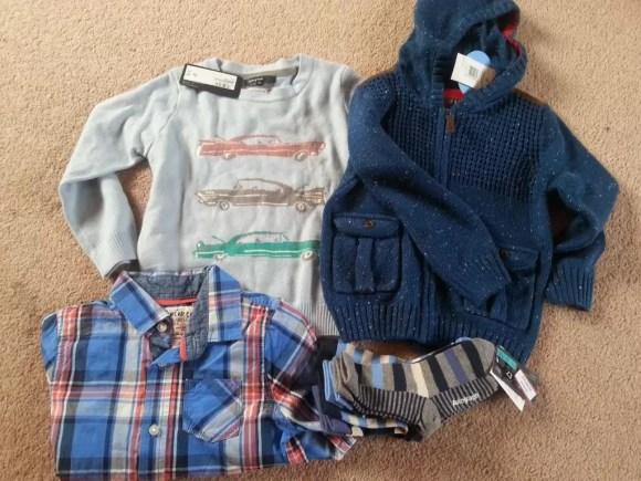 M&S Autograph boys clothes bargains