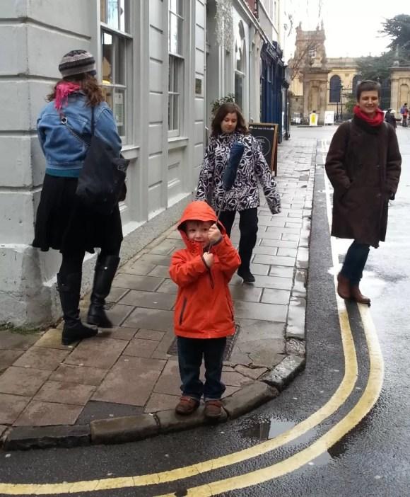 tour guide umbrella