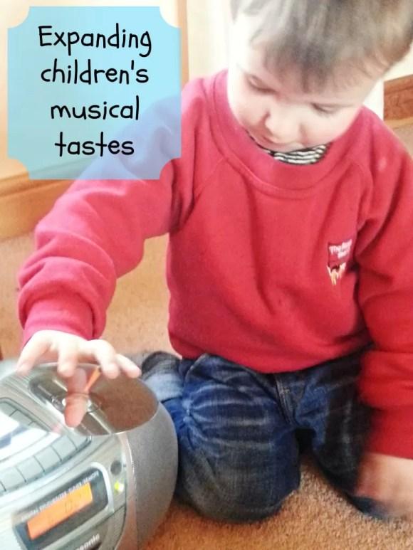 expanding toddler music taste