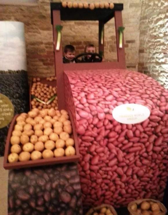 produce world potato tractor