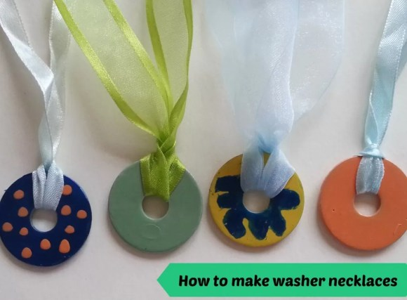 tutorial for washer necklaces
