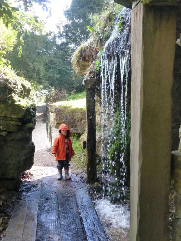 waterfall at Batsford