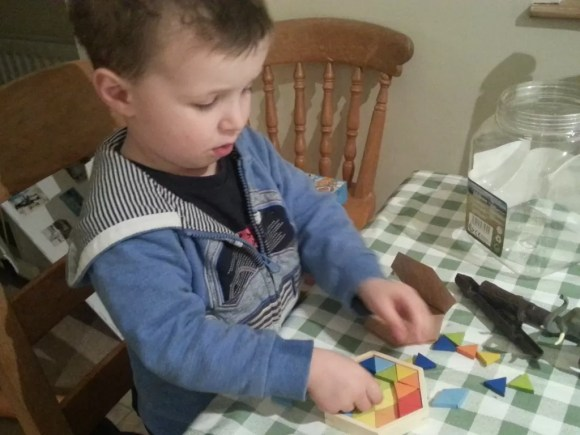 geomix puzzle for children