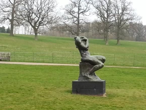 Rodin sculpture compton verney