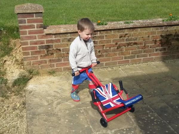 wheelbarrowing