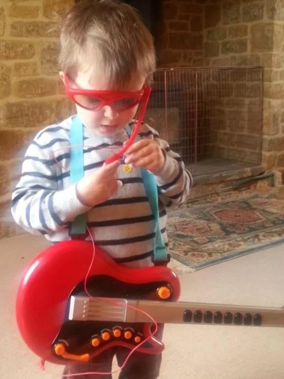 rock god toddler