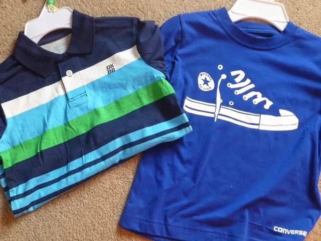 converse and oshkosh b'gosh t shirts
