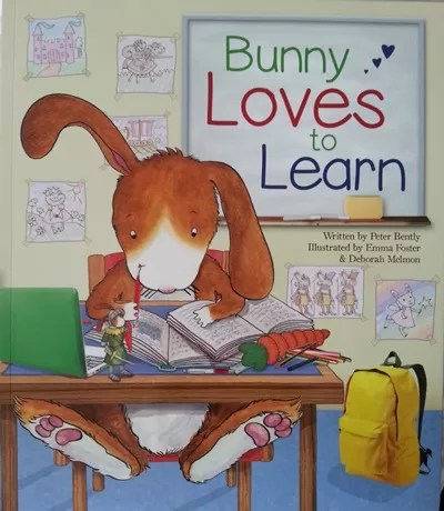 bunny loves to learn book