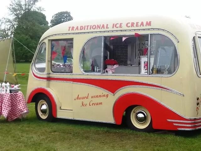 ice cream van retro