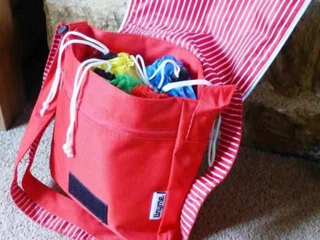 tiny me messenger bag as a party bag