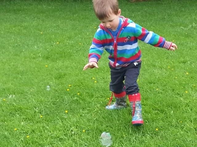 catch the bubbles