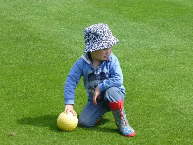 golf ball at Stowe