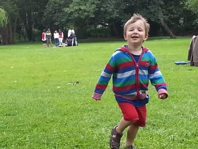 running around in Christchurch meadows