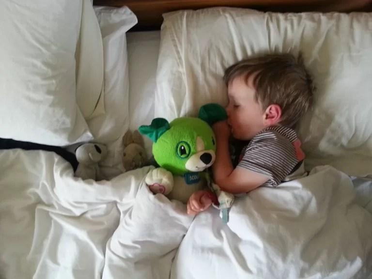 taking teddies to bed
