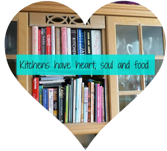 kitchen quote and recipe books