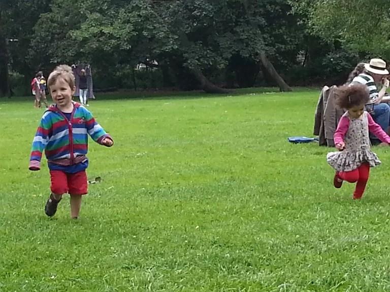 running wild in christ church meadows