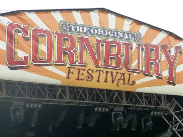 cornbury festival sign