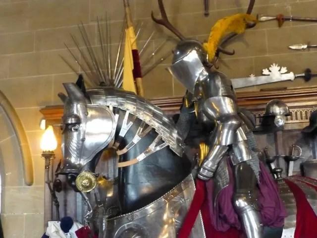 armour on horseback