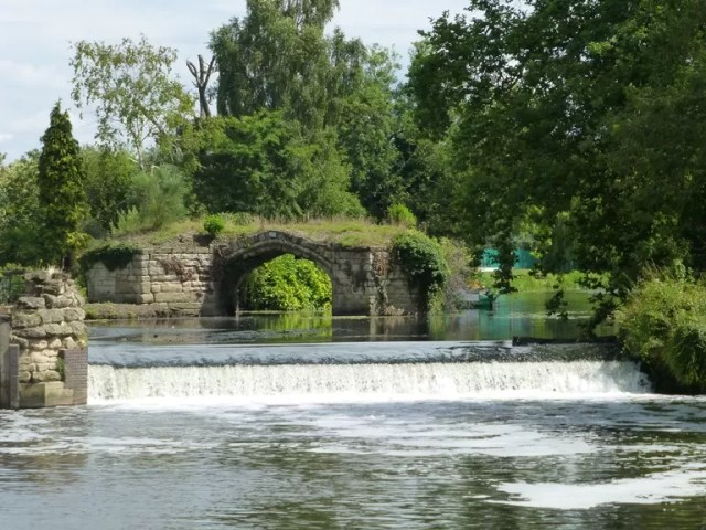 bridge and weir
