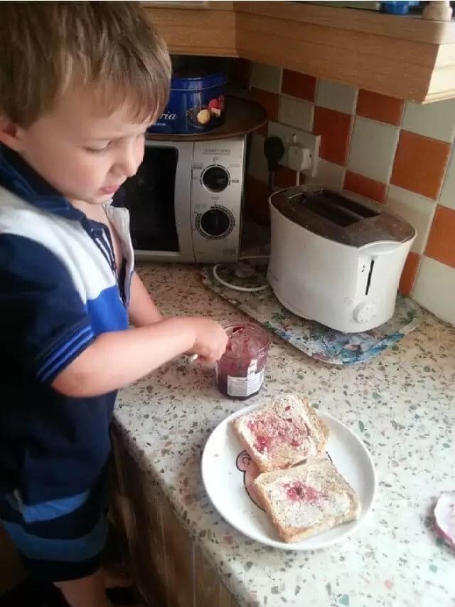 making-toast.