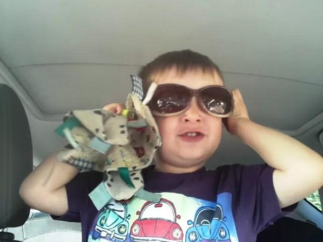 children's style - cool sunglasses