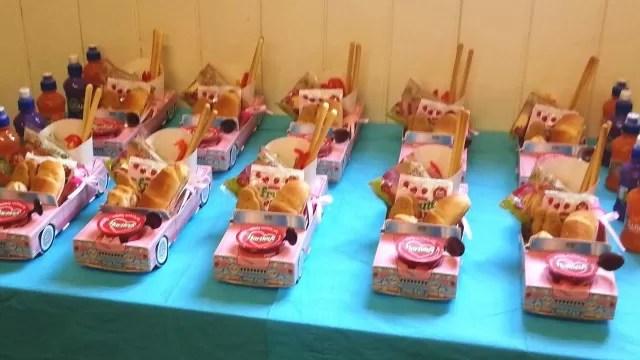 children car lunches