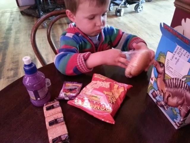 childrens lunchbox wookey hole