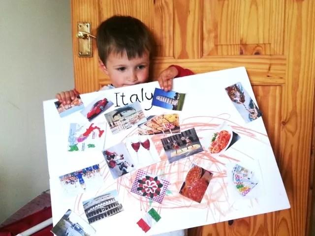 italian culture moodboard