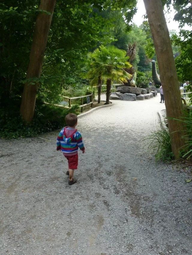off to dinosaur valley wookey hole