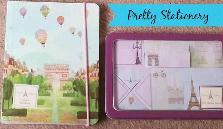 parragon books pretty stationery