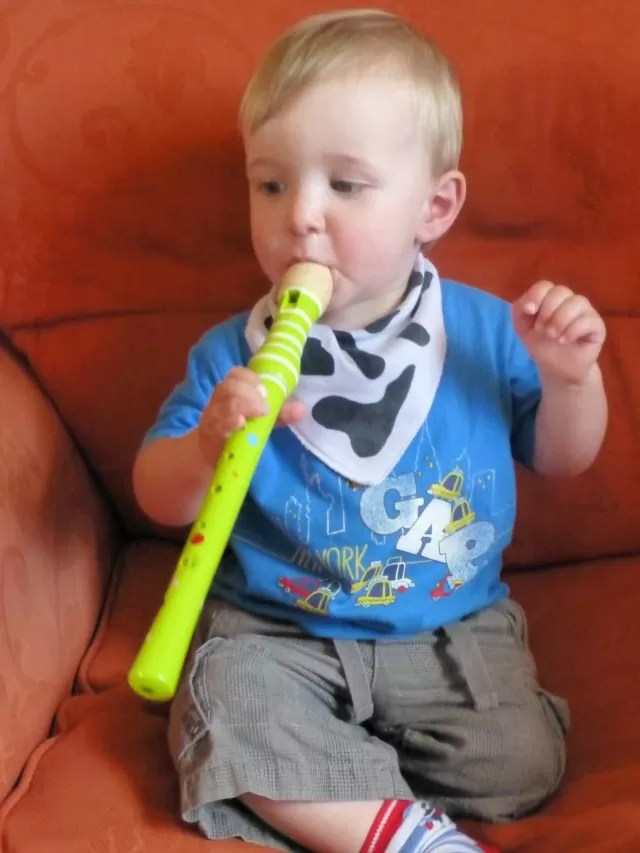 start them early on the recorder